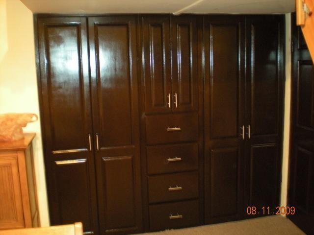 Galer as de fotos de madera dise o y decoraci n for Decoracion closet en madera